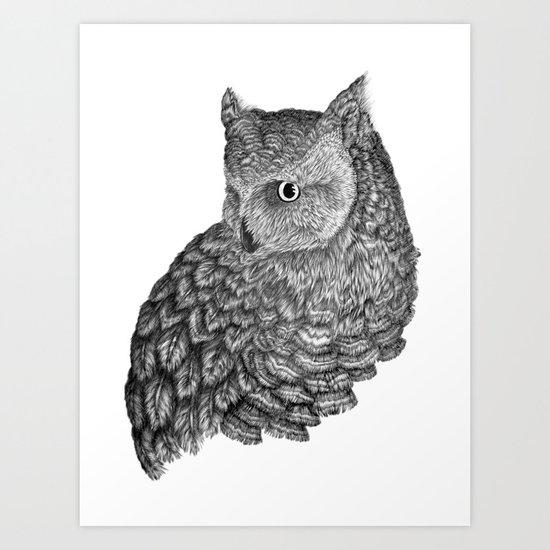 A Friend for Forsythe Art Print