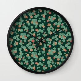 Succulents - Small Wall Clock