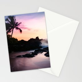 Paako Beach Sunset Jewels Stationery Cards