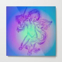 Heavenly apparition  Angel Music Metal Print