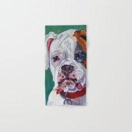 Boxer Dog Portrait Hand & Bath Towel