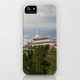 Cerro de Monserrate iPhone Case