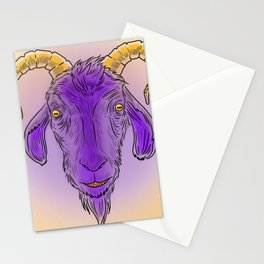 Creepy Black Phillip Stationery Cards