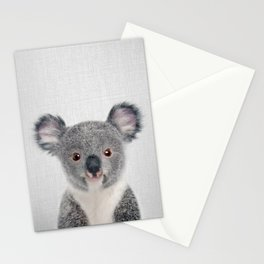 Baby Koala - Colorful Stationery Cards