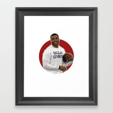 Dak Framed Art Print