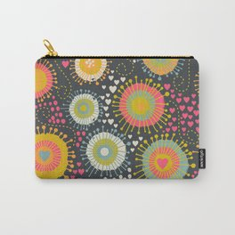 abstract organic texture Carry-All Pouch