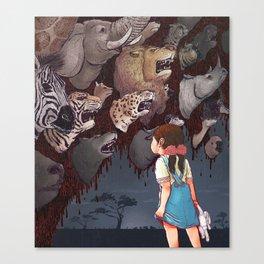 Beautiful Animals Canvas Print