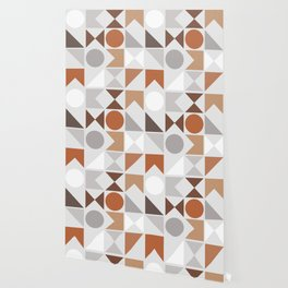 Mid Century Modern Geometric 16 Wallpaper