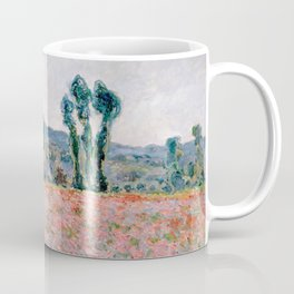 Poppy Field in Giverny by Claude Monet Coffee Mug