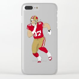 QB's Worst Nightmare Clear iPhone Case