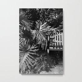 Take a Seat, Philodendron Metal Print