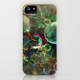 Soap Bubbles iPhone Case