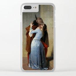 The Kiss (Il Bacio) - Francesco Hayez 1859 Clear iPhone Case