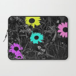 Nobody Knows a Wildflower Sill Grows Lyrics Laptop Sleeve