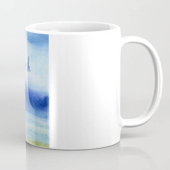 The Sea Is My Church (text) Mug