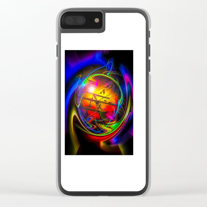 Saling Romance 2 Clear iPhone Case