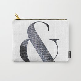 & DENIM Carry-All Pouch