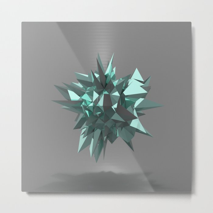 Sphere of shards I Metal Print