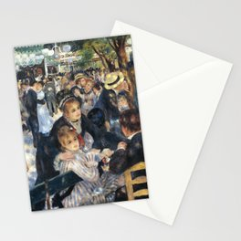 Dance at Le Moulin de la Galette by Renoir Stationery Cards
