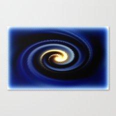 Blue Twister Canvas Print
