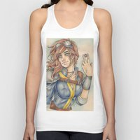 fallout 3 Tank Tops featuring Fallout by foxandolive