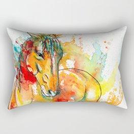 The Spirit of a Horse Rectangular Pillow