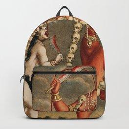 Chhinnimasta Hindu Goddess of Contradiction Backpack