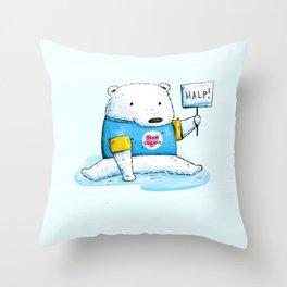Team Science Throw Pillow