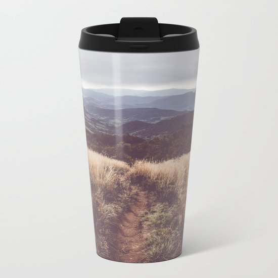 Bieszczady Mountains Metal Travel Mug