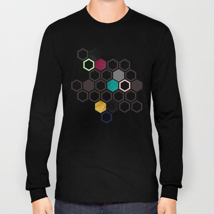 Hexagons Long Sleeve T-shirt