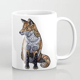 Stained Glass Fox Coffee Mug