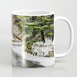 The Riverwalk in Winter Coffee Mug