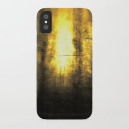 Train View iPhone Case