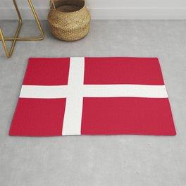 Denmark Flag Danish Patriotic Rug