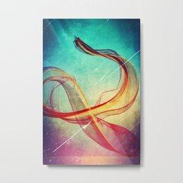 Travelling Metal Print