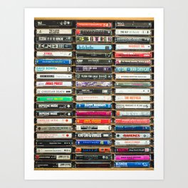 Tapes n Tapes Art Print