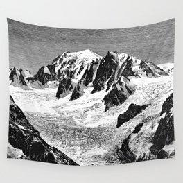 Existing Alpine Glacier Wall Tapestry