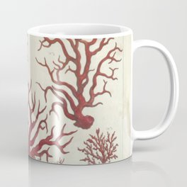 Naturalist Red Coral Coffee Mug