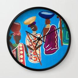 The Ancestors Wall Clock