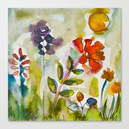 Happy colors :) Canvas Print