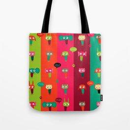 Little friends Tote Bag