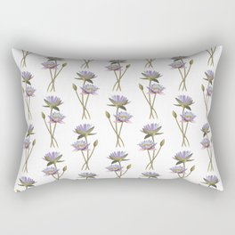 Lotus flowers Rectangular Pillow