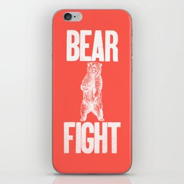 Bear Fight iPhone Skin