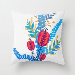 Australian Native Bouquet Throw Pillow