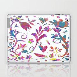 Fantasy Pink Flowers Laptop & iPad Skin
