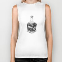 drink Biker Tanks featuring Drink me by Lou Ducroq