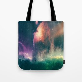 Imaginary Galaxy Space - Beautiful View Of Space Tote Bag
