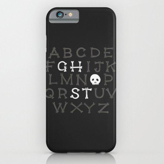 Somethin' strange in your alphabet iPhone & iPod Case