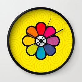 Hypnoflower Wall Clock