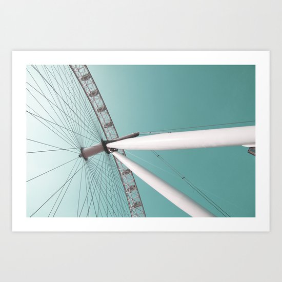 london eye 01 Art Print